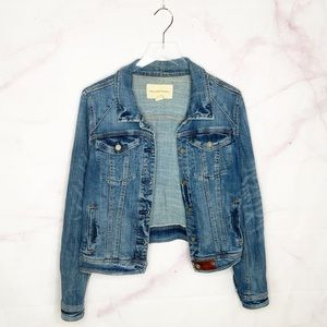 Anthropologie Pilcro Denim Jacket